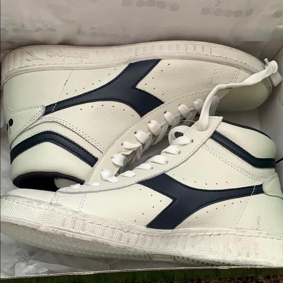 c69505797f Diadora Game L High Waxed Sneakers NWT